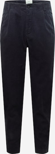 Folk Pantalon à pince en bleu marine, Vue avec produit
