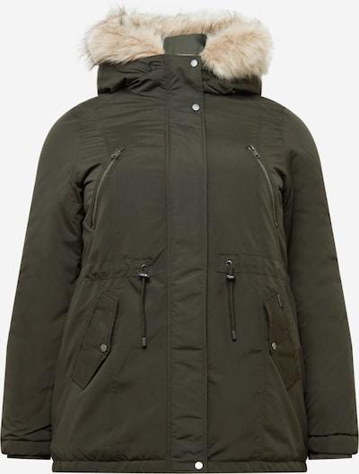 Vero Moda Curve Winterparka 'AGNES BEATE' in khaki, Produktansicht