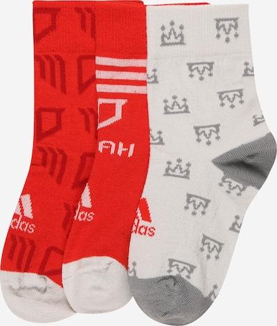 ADIDAS PERFORMANCE Sportske čarape 'SALAH' u siva / roza / crvena / prljavo bijela, Pregled proizvoda