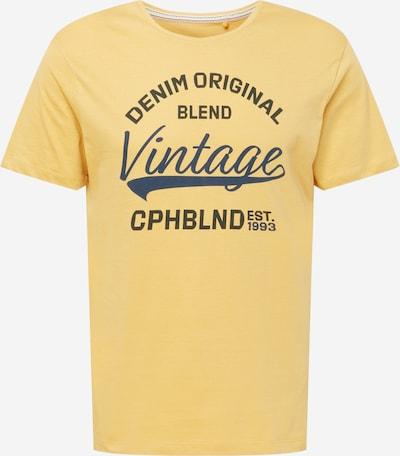 BLEND Shirt in dunkelblau / gold / schwarz, Produktansicht
