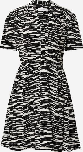 Calvin Klein Dolga srajca | črna / bela barva, Prikaz izdelka
