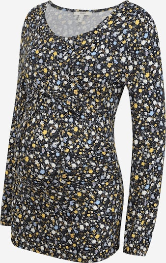 Esprit Maternity T-shirt en bleu / jaune / noir / blanc, Vue avec produit