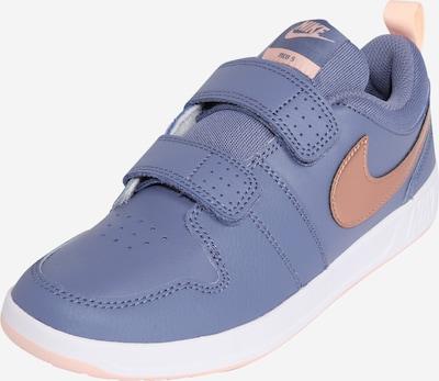 Nike Sportswear Sneaker 'Pico 5' in taubenblau / pfirsich, Produktansicht