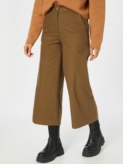 KAN Spodnie 'PERIDOT' w kolorze oliwkowym, Podgląd na modelu(-ce)