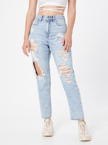 American Eagle Jeans 'MOM' in Blau