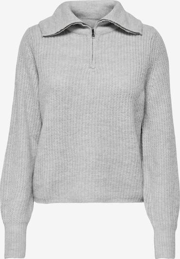 ONLY Pullover 'KARINNA' in hellgrau, Produktansicht