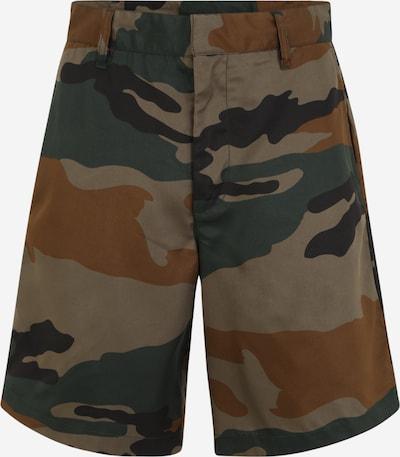 DIESEL Kalhoty 'BERTI' - noční modrá / karamelová / cappuccino / jedle, Produkt