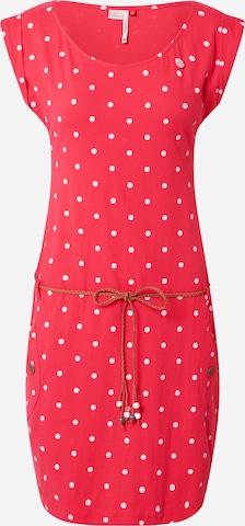 Robe d'été 'TAG DOTS' Ragwear en rouge