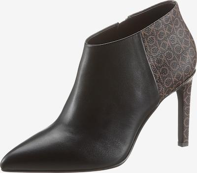 Calvin Klein Ankle Boots in hellbraun / schwarz, Produktansicht