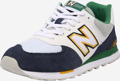 new balance Sneakers laag in de kleur Navy / Geel / Grijs / Groen / Wit, Productweergave