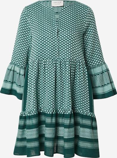 Cecilie Copenhagen Blūžkleita 'Julia', krāsa - smaragda / balts, Preces skats