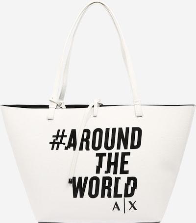 ARMANI EXCHANGE Shopper - čierna / biela, Produkt