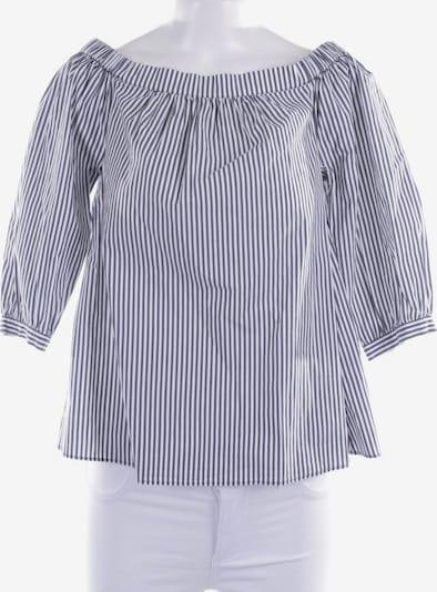 TOMMY HILFIGER Bluse in XS in dunkelgrau / weiß, Produktansicht