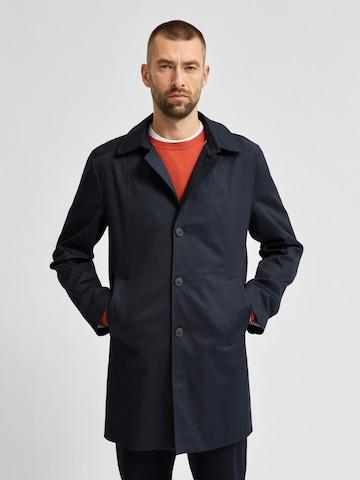 SELECTED HOMME Преходно палто в синьо
