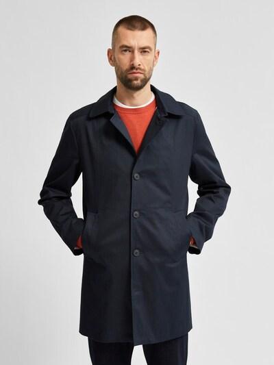 SELECTED HOMME Övergångsrock i blå, På modell