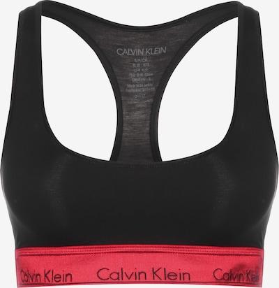 Calvin Klein Underwear Bralette ' Unlined ' in rot / schwarz, Produktansicht