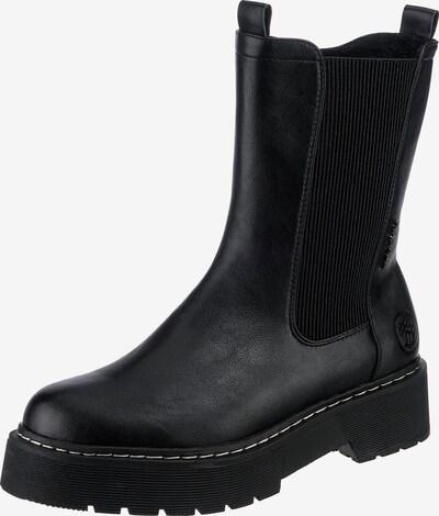 TOM TAILOR Chelsea Boots in schwarz, Produktansicht