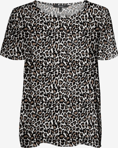 VERO MODA Bluse 'Simply' in braun / hellgrau / schwarz, Produktansicht