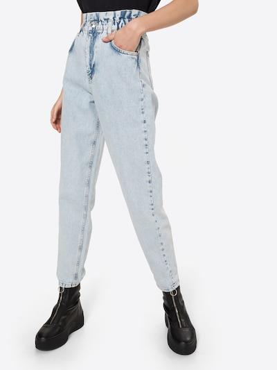 Gina Tricot Jean en bleu denim, Vue avec modèle