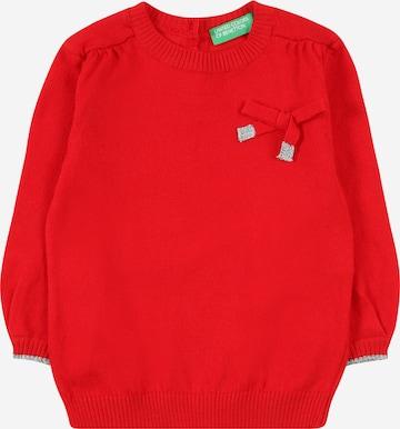 Pullover di UNITED COLORS OF BENETTON in rosso