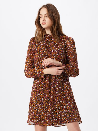 modström Kleid in braun / mischfarben, Modelansicht