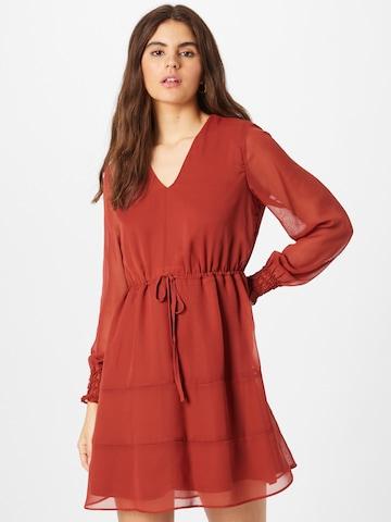 VILA Dress 'VALINE' in Red