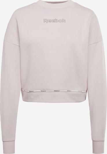 REEBOK Sweatshirt in rosa / schwarz, Produktansicht