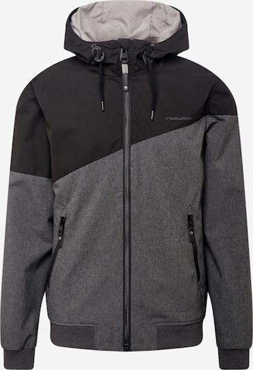 Ragwear Übergangsjacke in grau / schwarz, Produktansicht