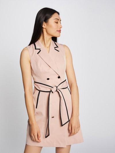 Morgan Kleid in rosa / schwarz, Modelansicht