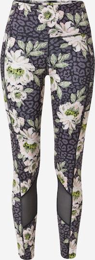 HKMX Спортен панталон 'Oh My Squat' в зелено / бледорозово / черно / бяло, Преглед на продукта