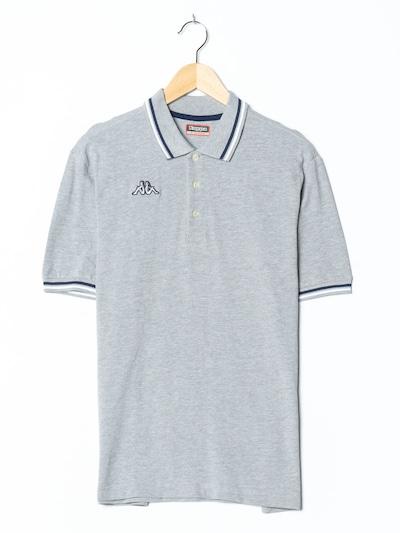 KAPPA Polohemd in M in graumeliert, Produktansicht