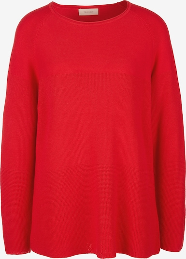 TRIANGLE Pullover in rot, Produktansicht