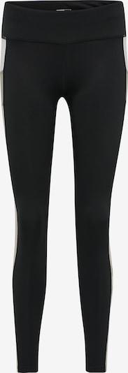 Hummel Pantalon de sport en nude / kaki / noir / blanc, Vue avec produit