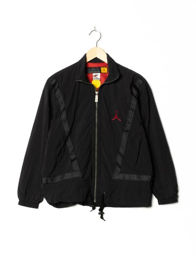 NIKE Sportjacke in M-L in schwarz, Produktansicht