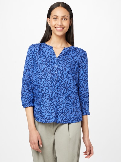 STREET ONE Blouse 'Bamika' in marine blue / Indigo, View model