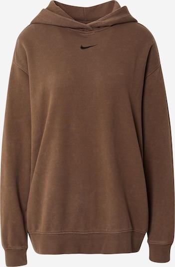 Nike Sportswear Sweatshirt in braun / schwarz, Produktansicht