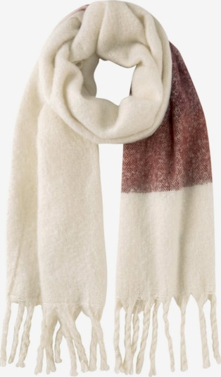 MINE TO FIVE Schal in beige / braun / weiß, Produktansicht