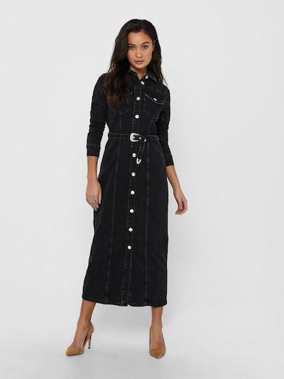 ONLY Košulja haljina 'MYTH' u crni traper, Prikaz modela