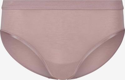 HUBER Soft Comfort Midi-Slip mit fein glänzendem Bund in rosé, Produktansicht