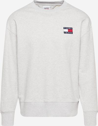 Tommy Jeans Mikina - tmavě modrá / stříbrně šedá / ohnivá červená / bílá, Produkt