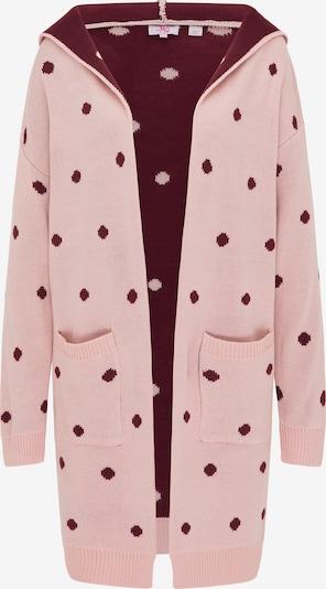 MYMO Gebreid vest in de kleur Rosa / Bordeaux, Productweergave