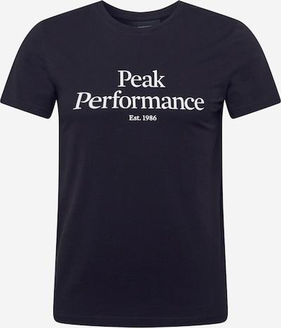 Sportiniai marškinėliai iš PEAK PERFORMANCE , spalva - juoda / balta, Prekių apžvalga