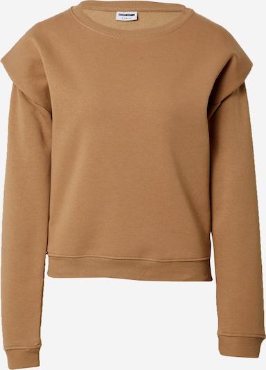 Megztinis be užsegimo 'ASYA' iš Noisy may, spalva – ruda, Prekių apžvalga