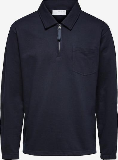 SELECTED HOMME Sweat-shirt en bleu marine, Vue avec produit