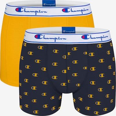 Champion Authentic Athletic Apparel Boxershorts ' Champion ' in navy / gelb, Produktansicht