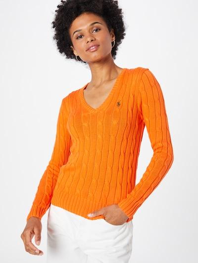 Polo Ralph Lauren Pullover 'KIMBERLY' in orange: Frontalansicht