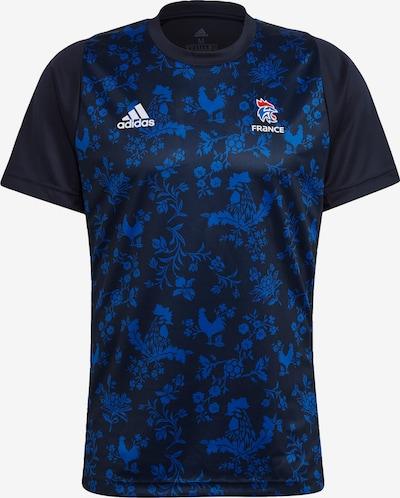 ADIDAS PERFORMANCE T-Shirt in hellblau / dunkelblau / weiß, Produktansicht