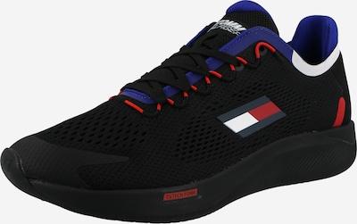 TOMMY HILFIGER Sneaker in navy / royalblau / rot / schwarz / weiß, Produktansicht