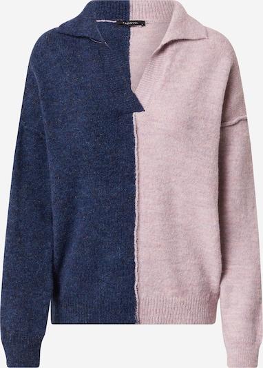 Trendyol Pullover in dunkelblau / pastelllila, Produktansicht