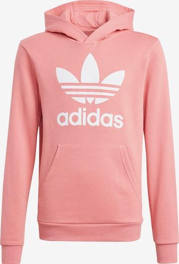 ADIDAS ORIGINALS Sweatshirt in altrosa / weiß, Produktansicht